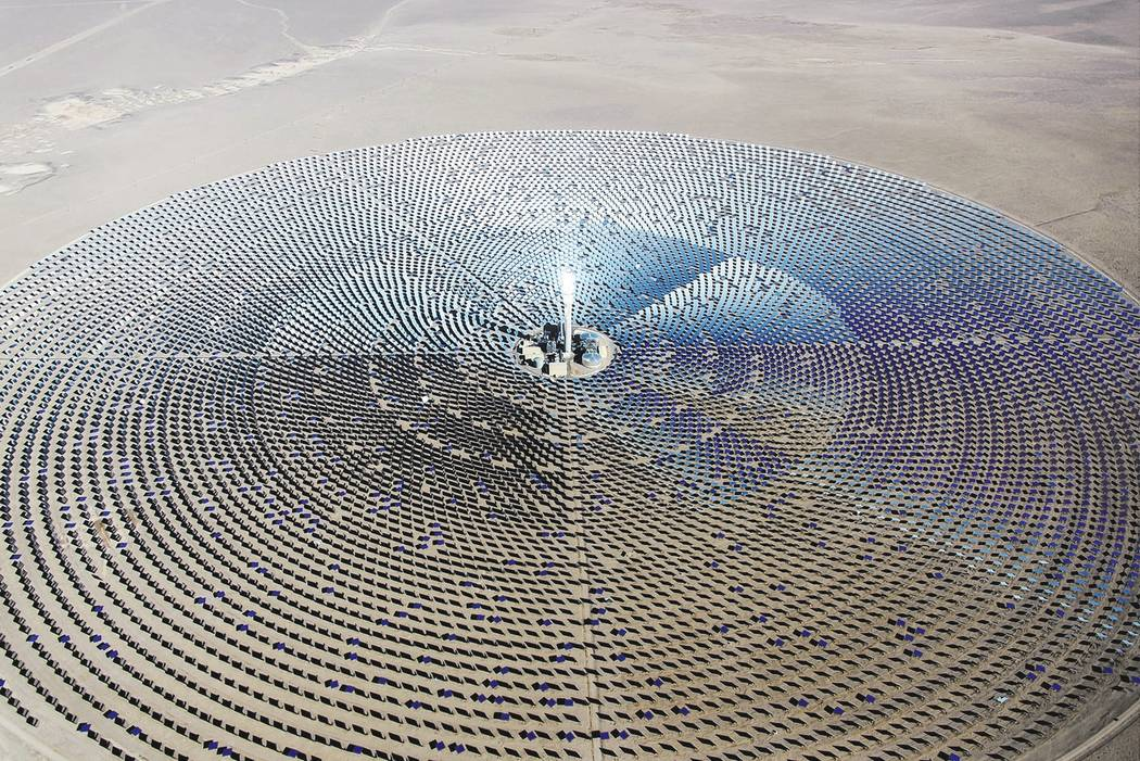 Special to the Pahrump Valley Times Santa Monica, California-based SolarReserve that operates the Crescent Dunes Solar Energy Project through a subsidiary company Tonopah Solar Reserve, said the 1 ...