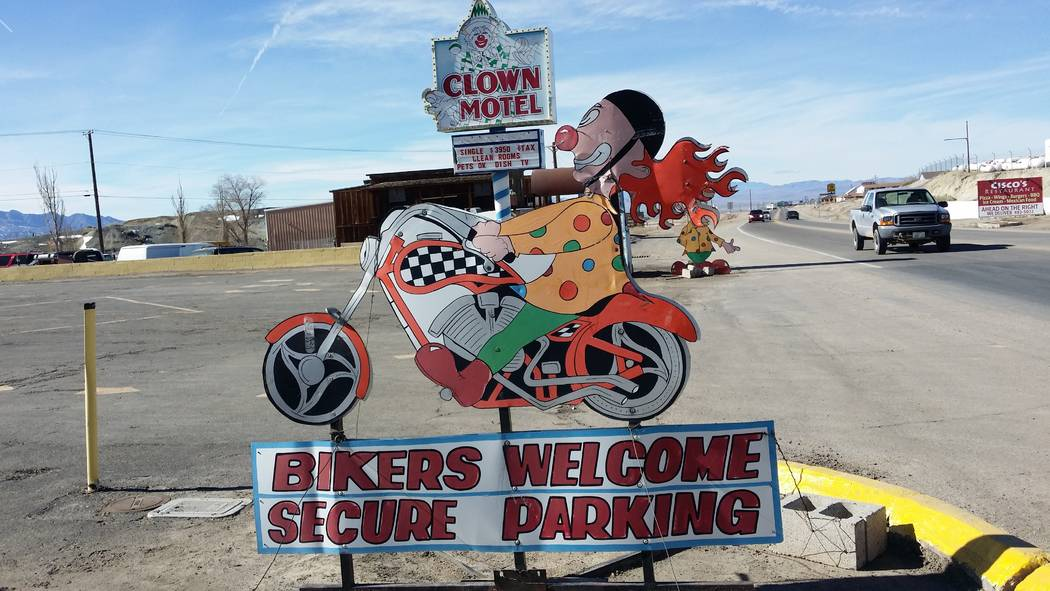 Special to the Pahrump Valley Times Clown Motel, one of the main landmarks in Tonopah located next to the Old Tonopah Cemetery has been attracting clown enthusiasts and ghost seekers for years. Th ...