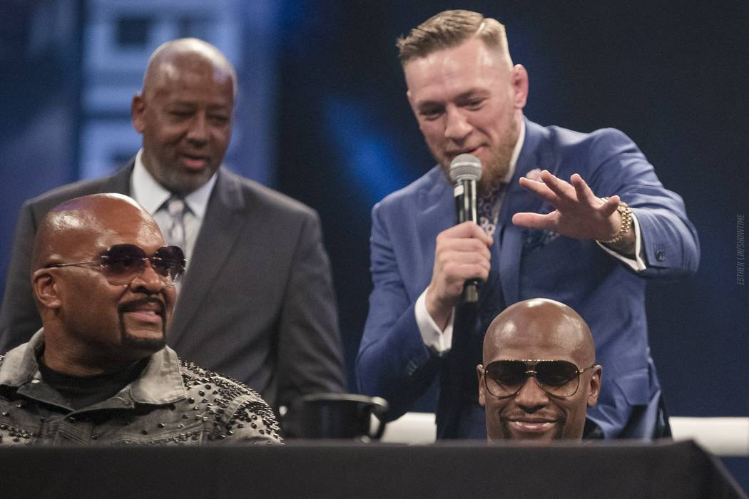 Esther Lin/SHOWTIME Sports Conor McGregor belittling his opponent, Floyd Mayweather during their world tour which came to an end on July 14. Many times the words coming out of the two opponents se ...