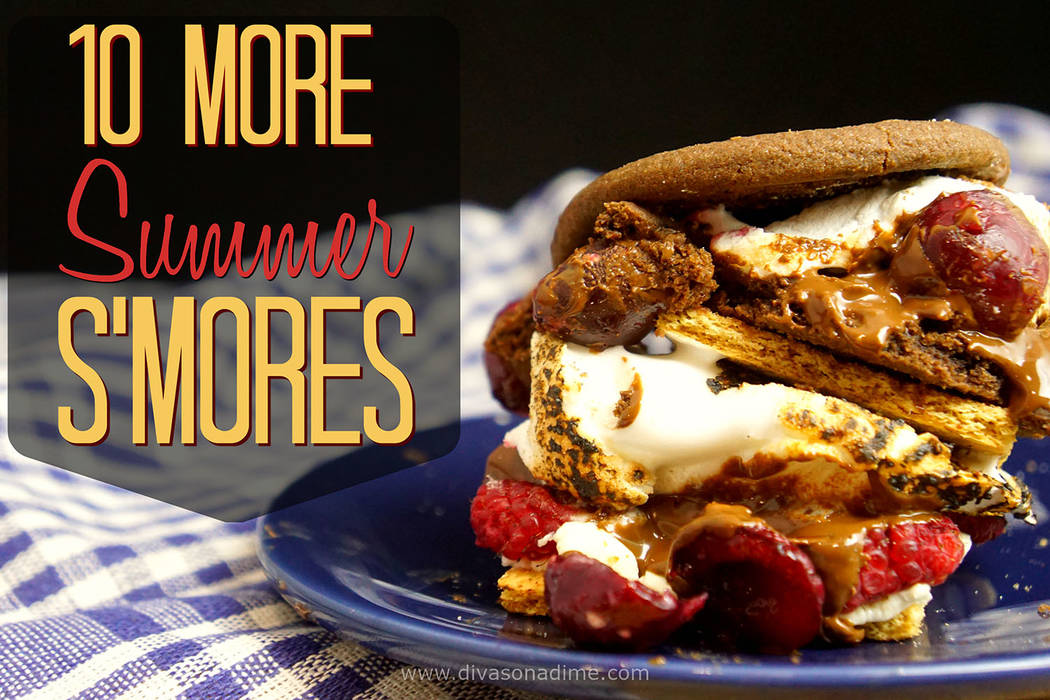 Patti Diamond/Special to the Pahrump Valley Times Nothing lacking in the traditional s'more, writes columnist Patti Diamond, who provides tips on how to make s'mores.