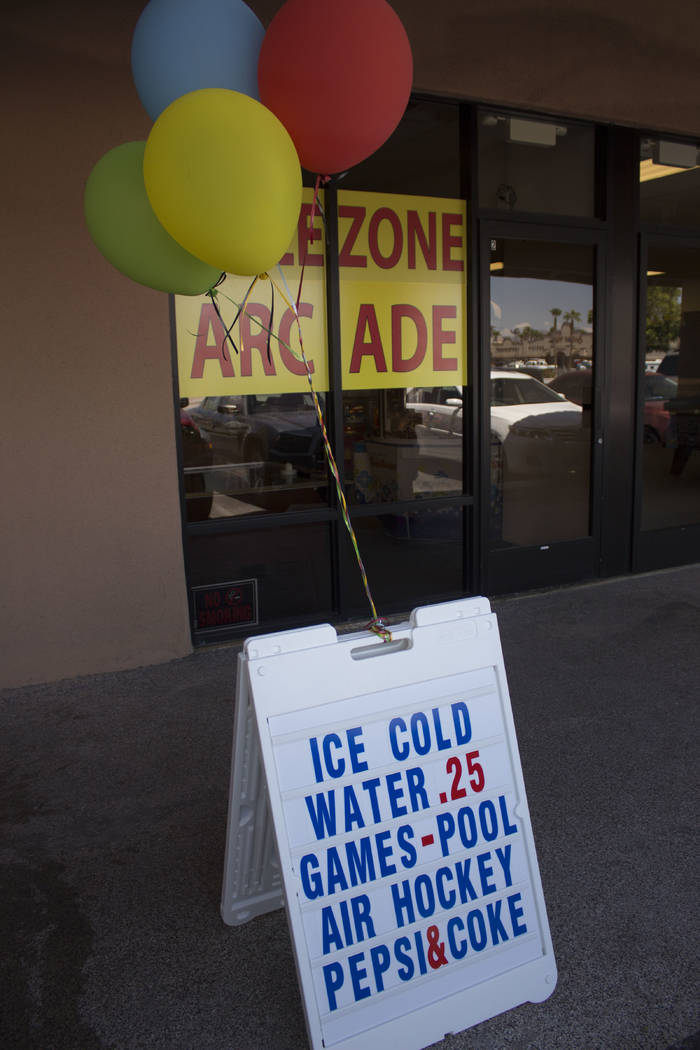 Jeffrey Meehan/Pahrump Valley Times The Prize Zone Arcade at 1330 S Highway 160 had its grand opening on July 26, 2017. It offers players and others 25 cent water. The arcade opens at 11 a.m. and  ...