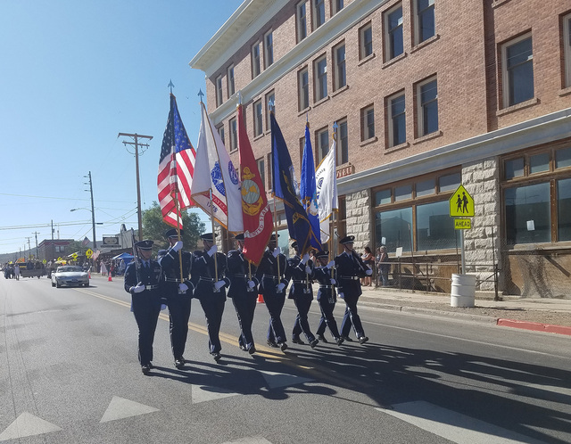 David Jacobs/Times-Bonanza & Goldfield News A look at the Goldfield Days' parade on Aug. 6, 2016 in the historic Nevada community. In all, the parade featured 25 official entrants. Spectators  ...