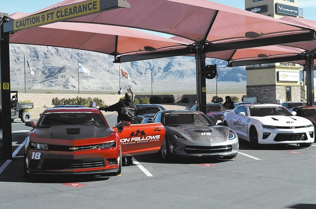Daria Sokolova/Pahrump Valley Times Spring Mountain Motorsports Ranch located along Highway 160 in Pahrump is poised to become the longest race track in the world after Nye County commissioners ap ...