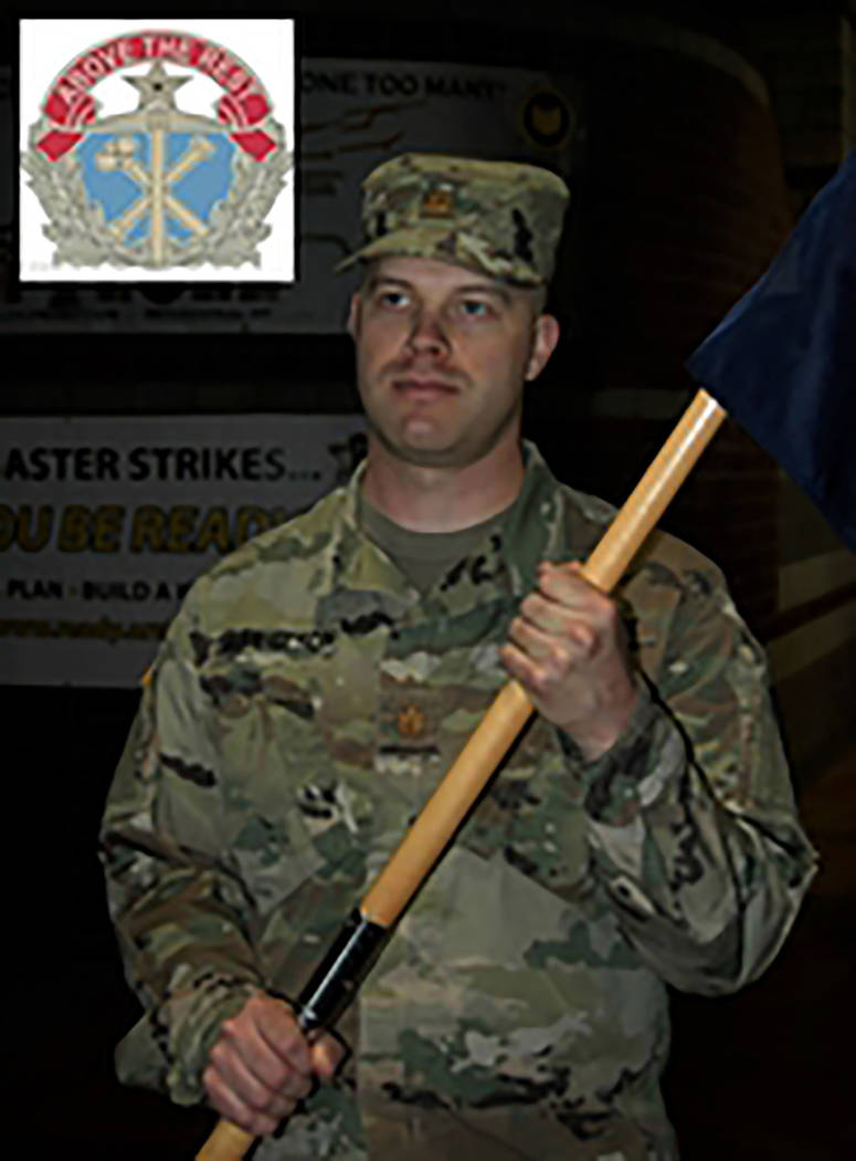 Photo illustration by Sgt. 1st Class Erick Studenicka/Nevada National Guard Maj. Geir Gabrielson, 36, of Reno, became Joint Force Headquarters' commander following a change of command ceremony in  ...