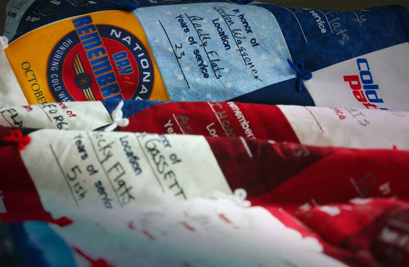 Special to the Pahrump Valley Times The Cold War Patriots are honoring uranium workers of the nuclear weapons and uranium industries with an exhibit titled  Remembrance Quilt Experience. This a ph ...