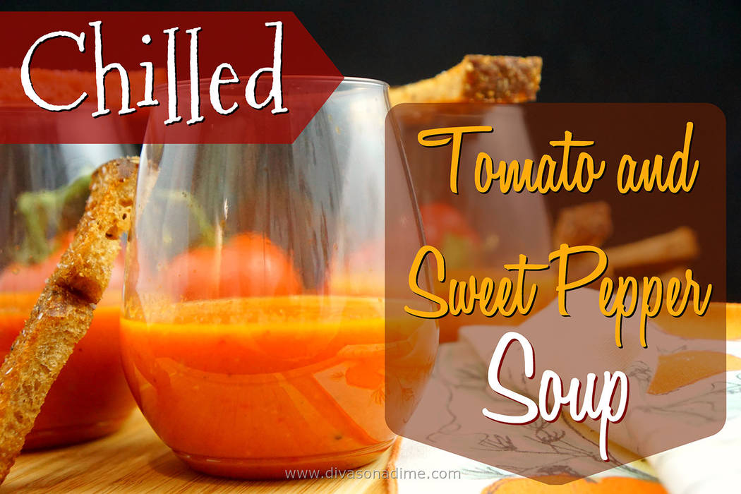 Patti Diamond/Special to the Pahrump Valley Times This recipe is a riff on Spanish gazpacho but unlike gazpacho, this soup is cooked and then chilled, columnist Patti Diamond writes.