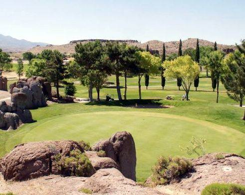 Gary Bennett/Special to the Pahrump Valley Times We had a wonderful day on the golf course. The staff was very helpful and friendly.