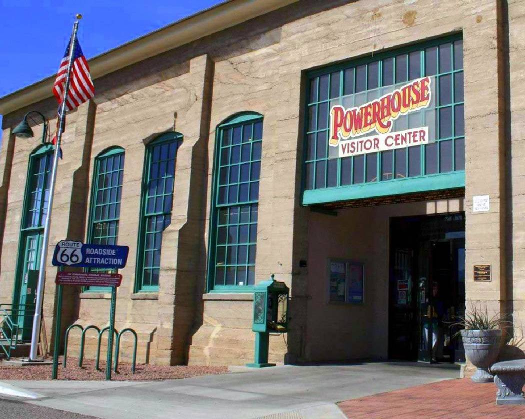 Gary Bennett/Special to the Pahrump Valley Times The old power house is now a very nice visitor center and museum.