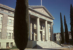 Gary Bennett/Special to the Pahrump Valley Times The Mojave County Courthouse is still in use and a beautiful building.