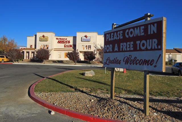 Sam Morris/Las Vegas Review-Journal Sheri's Ranch brothel in Pahrump as seen in a 2014 file photo.