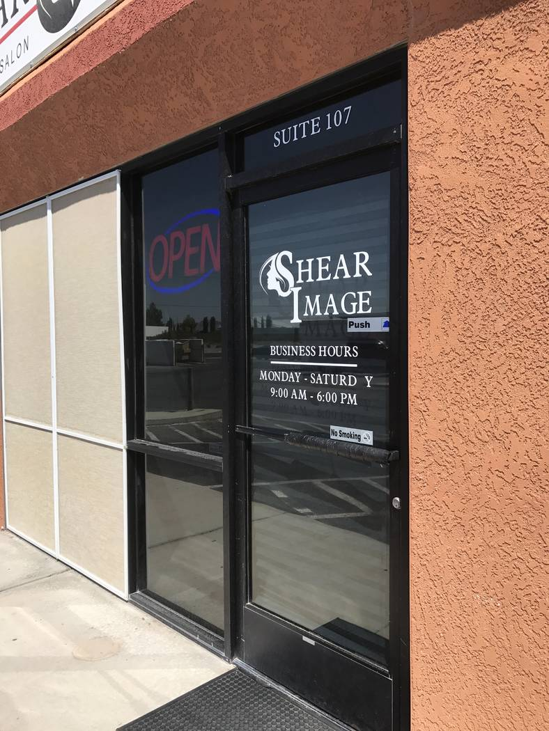 Jeffrey Meehan/Pahrump Valley Times  Shear Image Salon celebrated its one-year anniversary on Aug. 15 from 2 p.m. to 6 p.m. The party was filled with give-away bags, food and raffles at the salon  ...