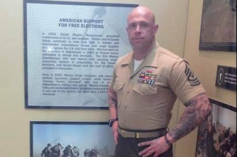Special to the Pahrump Valley Times Chris Carlisle was a retired combat marine and recipient of the purple heart. According to his racing team he was injured at mile 290 and passed away of interna ...
