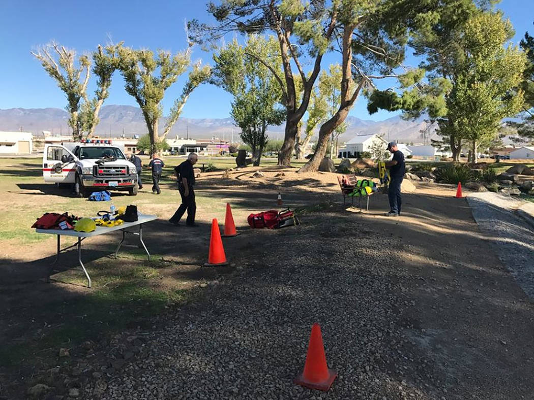 Special to the Pahrump Valley Times  Structure and wildland firefighting, along with Hazmat responses and water rescues are part of the training volunteers will receive with Nye County Technical R ...