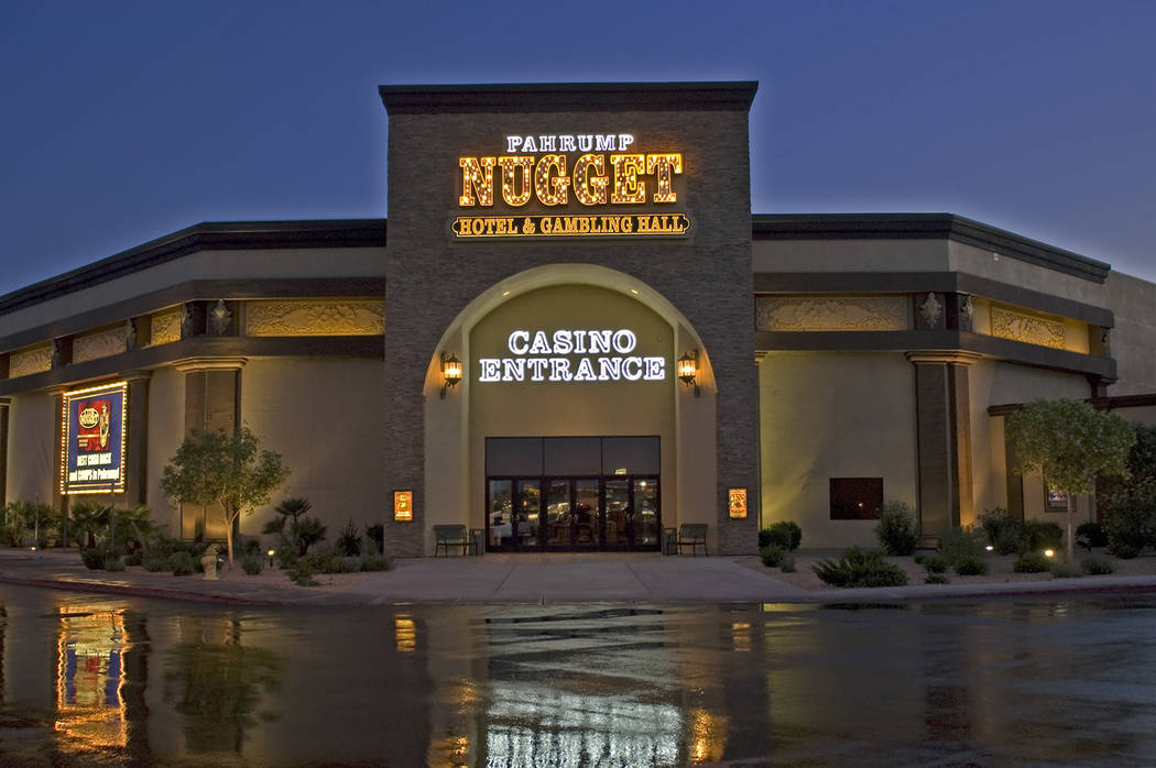 Special to the Pahrump Valley Times Golden Entertainment Inc. operates three casino properties in Pahrump – The Nugget, Gold Town and Lakeside in addition to casinos in other communities. This p ...
