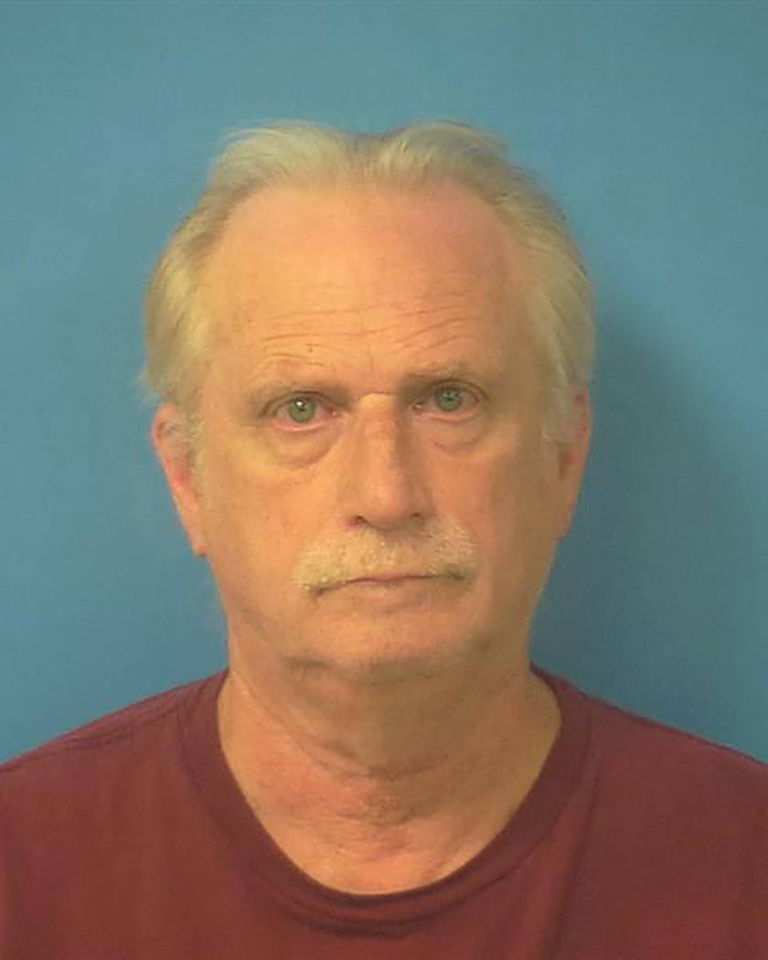 Special to the Pahrump Valley Times  Pahrump resident Jerome M. Johnson, 63, was arrested and charged on Friday Sept. 1, with distributing materials depicting pornography involving a minor, and po ...