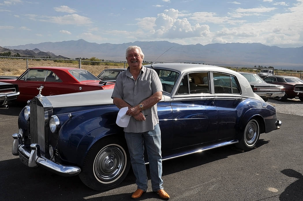Horace Langford Jr./Pahrump Valley Times -  Top Notch, Tex Whitson