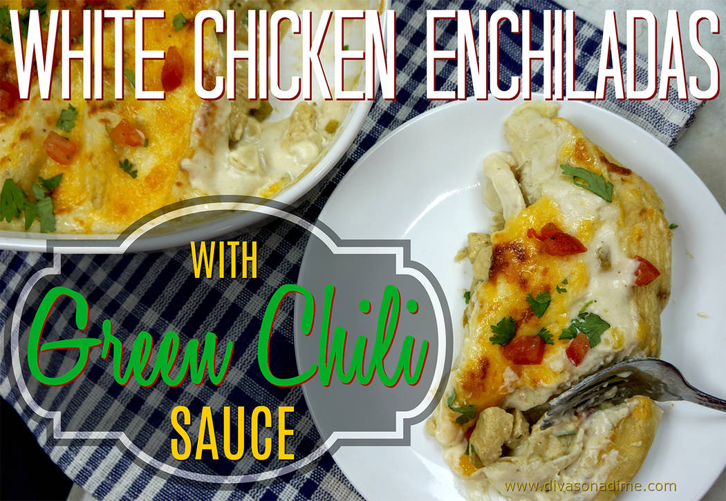 Divas on a Dime: The secret to crazy delicious chicken enchiladas
