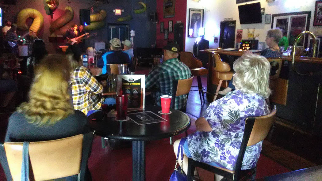 Selwyn Harris/Pahrump Valley Times More than a half dozen local bands performed during a Hurricane Harvey fundraiser at the Tatuado Wild Side Tavern on Saturday Sept. 9.
