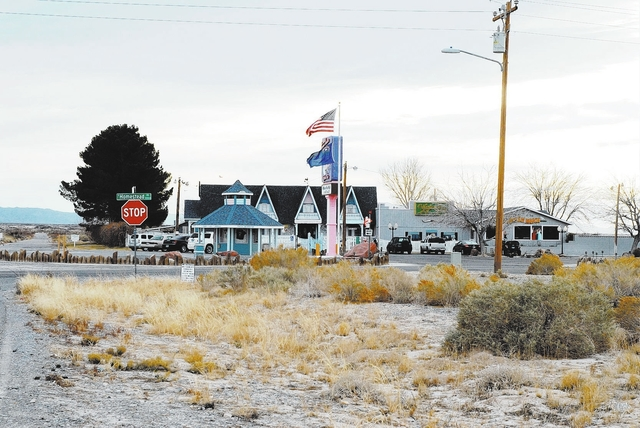 Horace Langford Jr. / Pahrump Valley Times Brothel owner Dennis Hof who already owns seven brothels across Nevada said that he had been approached by Ken Green, one of the owners of the historic C ...