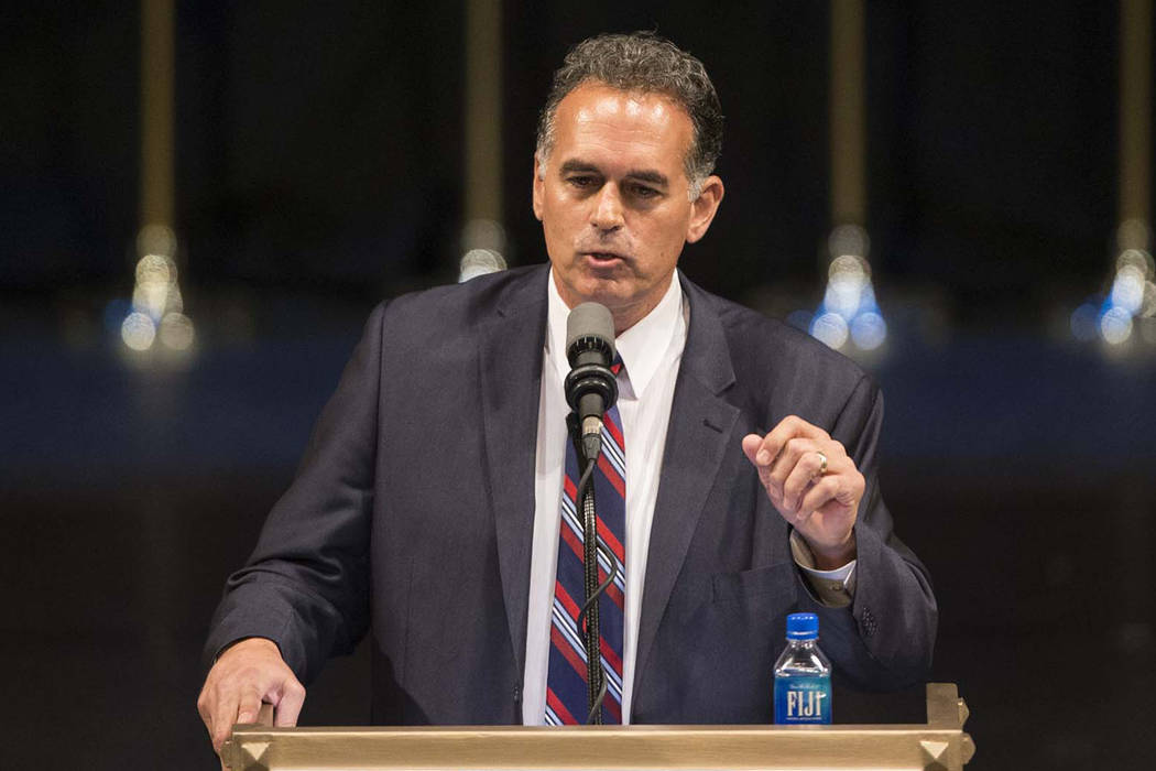Erik Verduzco/Las Vegas Review-Journal  U.S. Senate Candidate Danny Tarkanian will appear at the Pahrump Fall Festival's parade along with Attorney General Adam Laxalt and Senate Minority Leader M ...