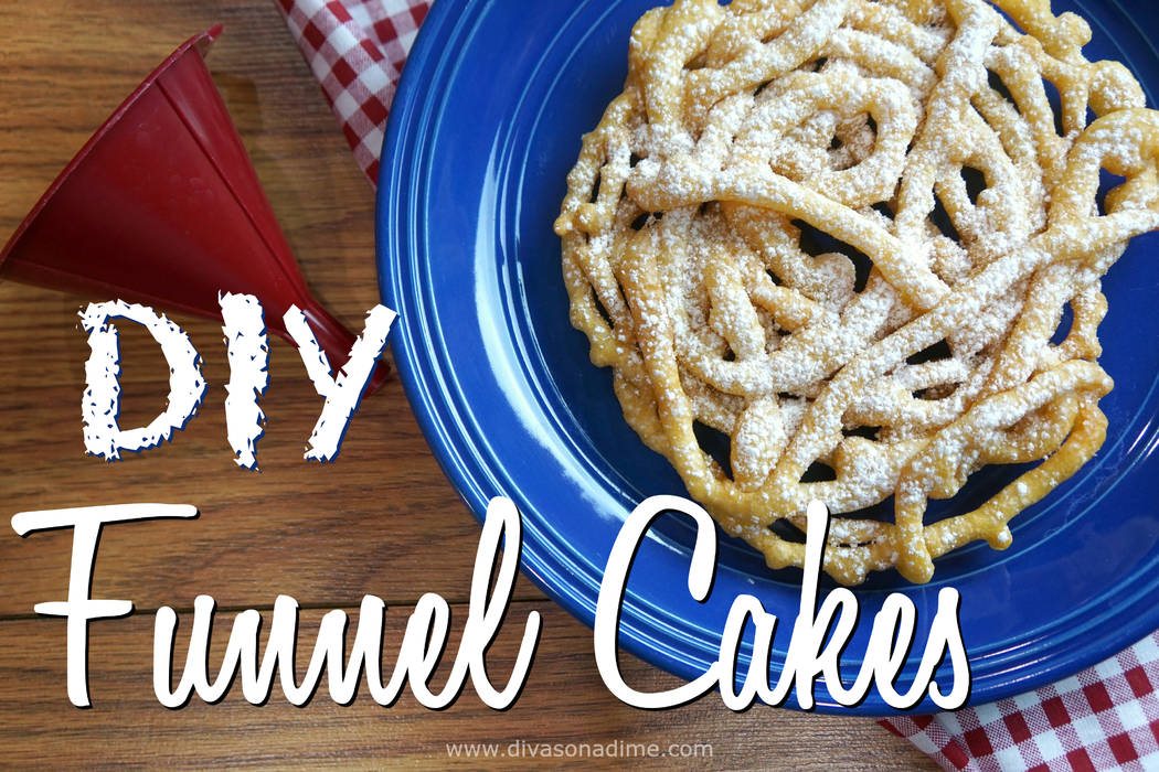 Patti Diamond/Special to the Pahrump Valley Times Making funnel cakes at home is surprisingly easy and inexpensive. The simplicity of a fresh, warm funnel cake with powdered sugar is a thing of be ...