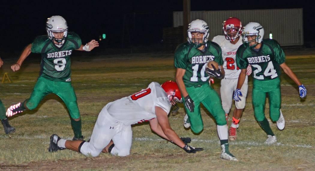 Beatty runs over Muckers