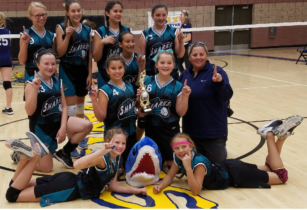 pecial to the Pahrump Valley Times  The Rosemary Clarke Middle School B team took first place at a Moapa Valley tournament. The majority of the players are seventh graders and are coached by Jenni ...