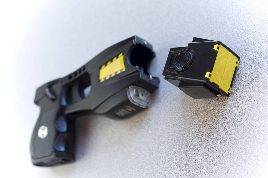 Thinkstock A photo of a Taser is shown. Under a five-year contract with Axon that was approved by Nye County commissioners, the county will purchase 130 Tasers as well as replacement Taser cartridges