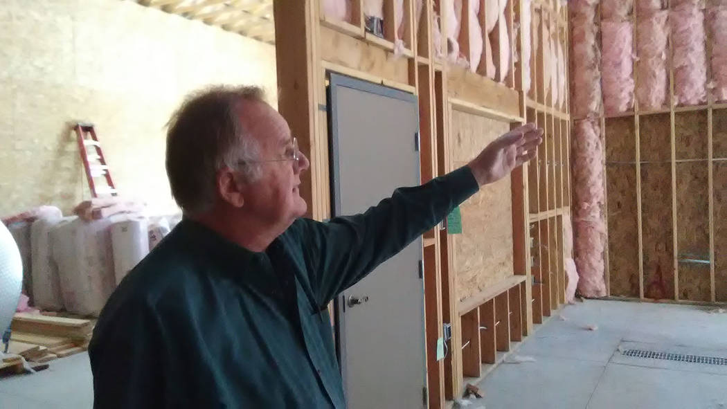Selwyn Harris/Pahrump Valley Times In January 2003, Loken and his wife Gretchen took control of the winery and began the long and much needed process of upgrading and renovating the entire propert ...