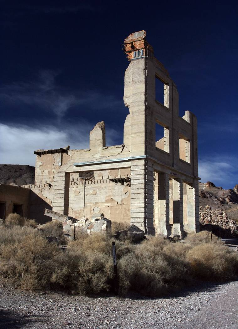 Special to the Pahrump Valley Times The walking tours will be hosted by two archaeologists who will cover the history of this mining ghost town, the buildings and sites left behind and the steps t ...