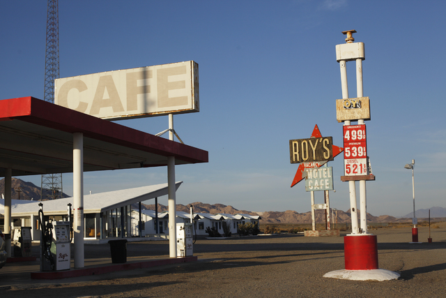 Rachel Aston/Las Vegas Review-Journal Roy's Motel and Cafe is seen in Amboy, Calif. as shown in a file photo on Sunday, June 5, 2016.
