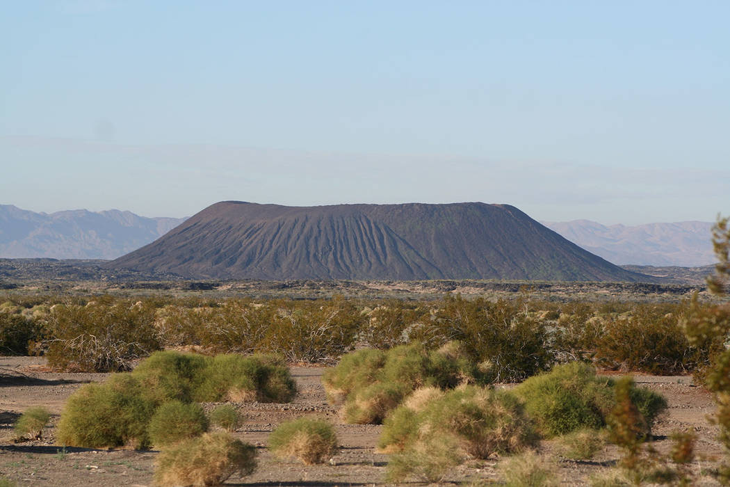Deborah Wall/Special to the Pahrump Valley Times The road trip takes you through the Mojave National Preserve, and along historic Route 66 to the tiny town of Amboy, and its nearby volcanic crater.