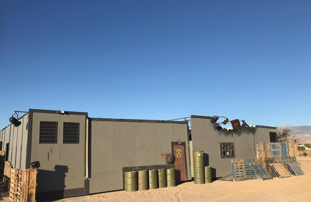 Jeffrey Meehan/Pahrump Valley Times An inconspicuous trailer in the day is set to transform this evening (Friday), as night falls. A local haunted attraction at 560 Starlight Drive, just off of S. ...