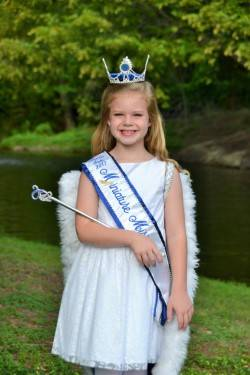 Special to the Pahrump Valley Times Isabella Simpson, local Pahrump resident, takes top prize in the miniature miss category in the Nevada Cinderella Girl Scholarship Pageant. Simpson will spend t ...