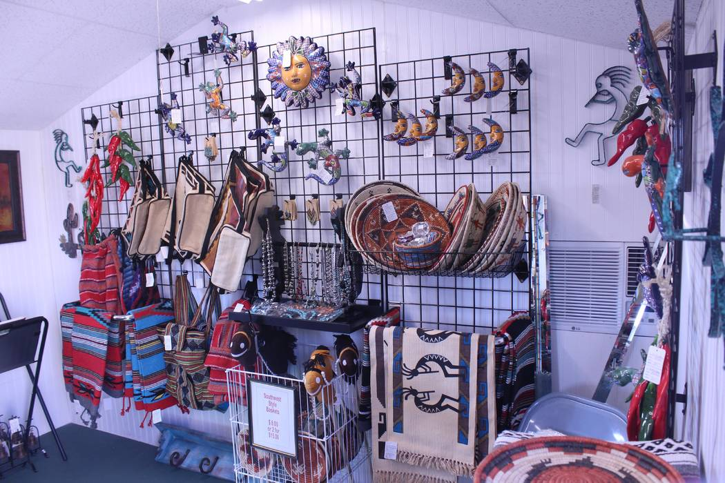 Jeffrey Meehan/Pahrump Valley Times Mike and Jessica Wakefield, a local Pahrump couple, opened a shop, carrying Southwestern-style goods, in May. The new retail shop, which sits in front of their  ...