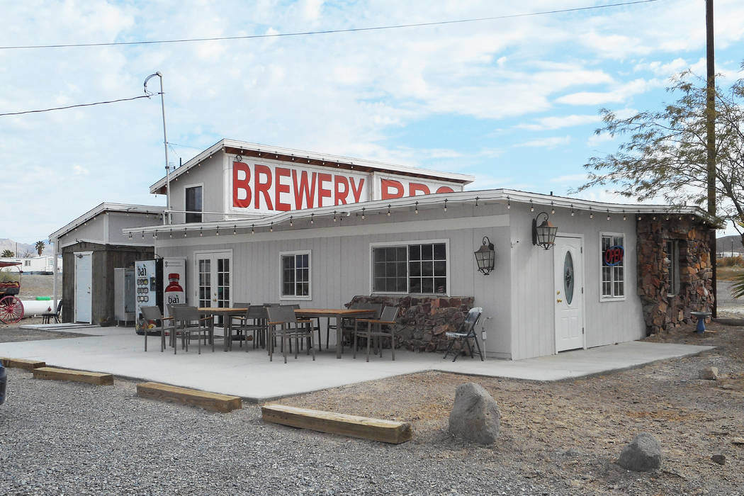 Provided by Robin Flinchum/Special to the Pahrump Valley Times Westley McNeal and his wife Courtney McNeal, often with their baby daughter in tow, are running a barbecue restaurant and their own c ...