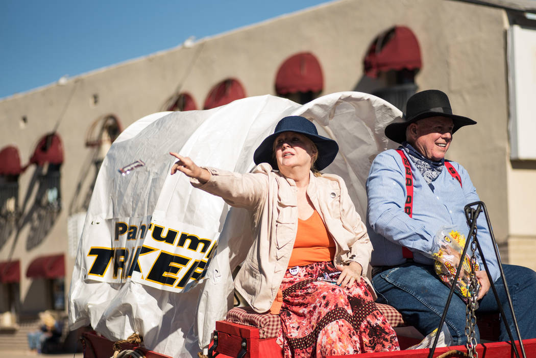 Skylar Stephens/Special to the Pahrump Valley Times One of several participants in the Beatty Downtown Parade on Oct. 28. The three-day event was held in Beatty from Oct. 27-29.