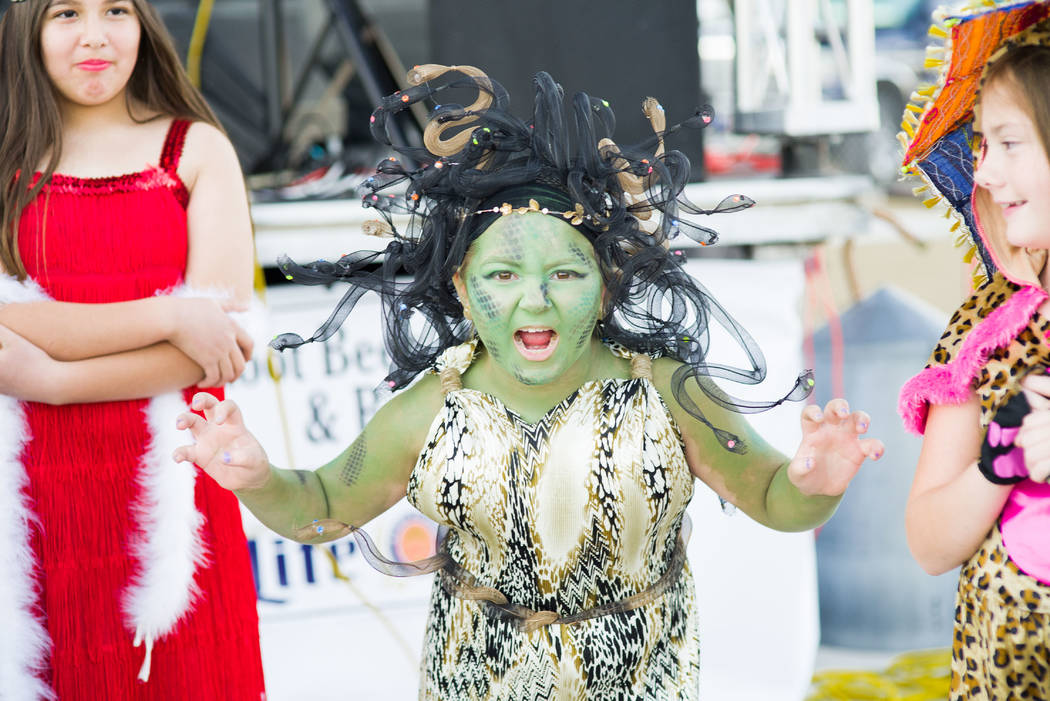 Skylar Stephens/Special to the Pahrump Valley Times Carmen Grant, winner of the costume contest at Beatty Days. The three-day venue had several entrants into the contest. Festivities also included ...