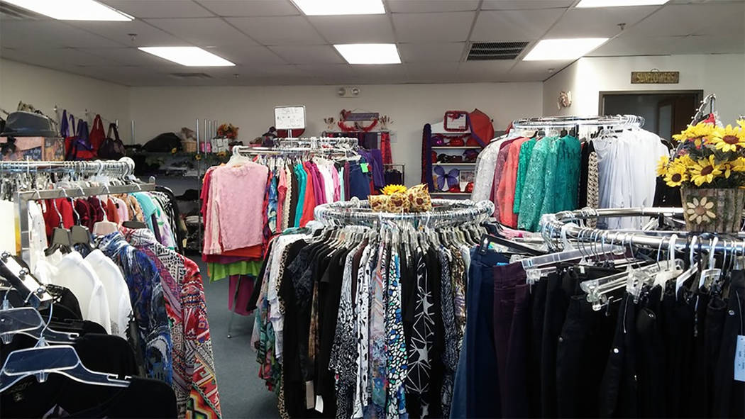 Special to the Pahrump Valley Times  The holiday-themed fashions for the Soroptimist International of the Pahrump Valley Fashion Show are provided courtesy of Pahrump's Sunflower Fashions. All o ...
