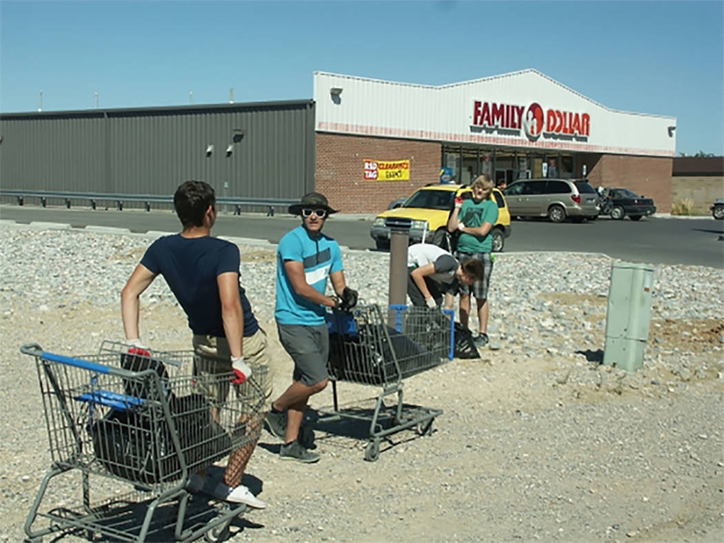 Selwyn Harris/Pahrump Valley Times The annual Pahrump Town Clean-Up returns on Saturday from 8:30 to 11:30 a.m. Individuals and groups are advised to arrive at the coalition campus along 1020 East ...