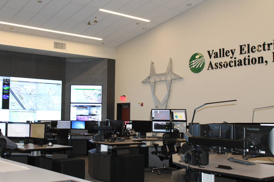 Special to the Pahrump Valley Times A Pahrump-based cooperative,Valley Electric Association, provides energy to about 40,000 customers. Its service area spans 68,000 square miles and encompasses S ...
