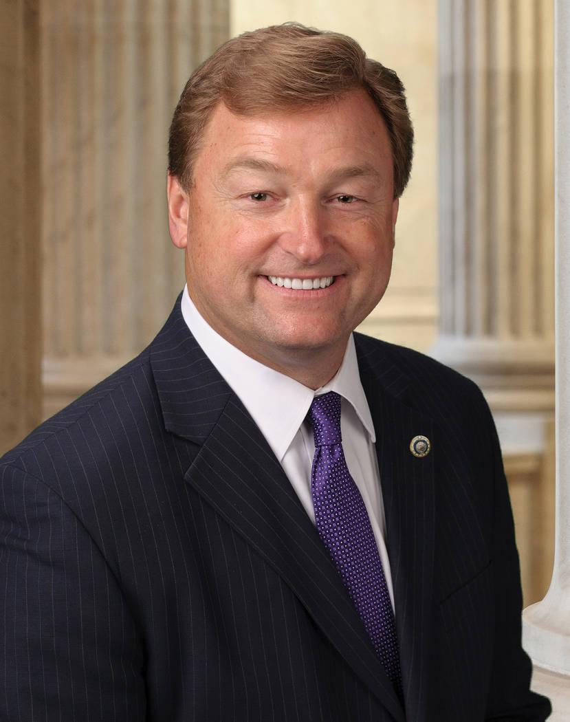 Handout photo U.S. Sen. Dean Heller, R-Nevada