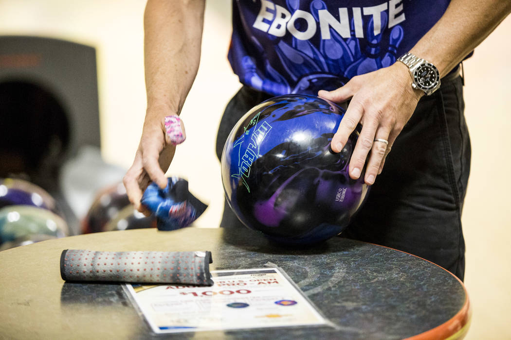 Patrick Connolly Las Vegas Review-Journal @PConnPie Three Pahrump bowlers bowl perfect 300 scores in the month of October at the Pahrump Nugget Bowling Center.