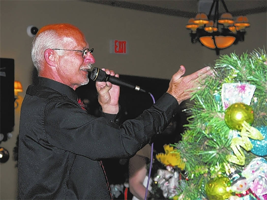 Selwyn Harris/Pahrump Valley Times  Ski Censke of Nye County Public Auction returns again this year as auctioneer of the Nye County Celebrity Auction. The popular event is scheduled for Saturday N ...