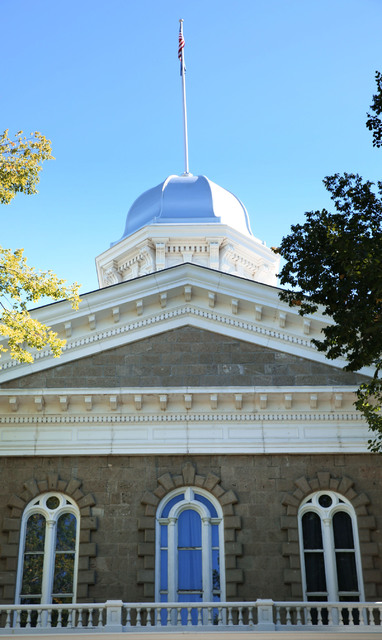 The Nevada State Capital is pictured in Carson City in October. The new year ushered in a handful of new laws in Nevada, ranging from recreational marijuana to registration of mopeds.  David Guzma ...