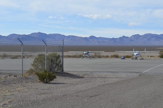 Under the plan for the Beatty airport, officials plan to spend $103,125 out of the county's budget, and $1.6 million out of federal funding over five years. The money would pay for an automatic  ...