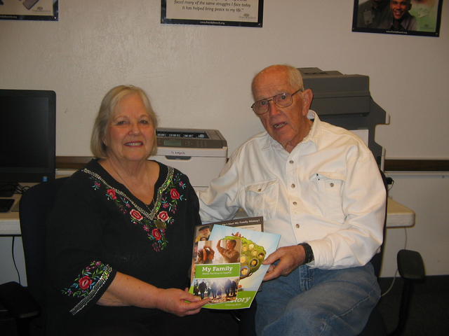 Judith and John Luellen are co-directors of the Pahrump FamilySearch Center, sponsored and funded by the Church of Jesus Christ of Latter-day Saints. The center provides free help and access to a  ...