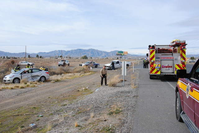 One person was transported by Mercy Air following a two-vehicle collision along Highway 372 at Red Rock Drive on Sunday. The sole patient was physically entrapped inside their vehicle before fire  ...