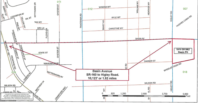 Road and Highway Builders will be awarded a $12.5-million contract by the NDOT to improve nearly 15 miles of Highway 160 from Basin Avenue to the area of Johnnie.   Special to the Pahrump Valley Times