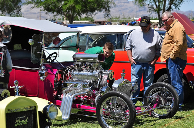 Valley Cruisers of Pahrump held what looks like their final Show and Shine on April 16, 2016. The organization is disbanding after two decades in the valley.  Horace Langford Jr. /Pahrump Valley Times